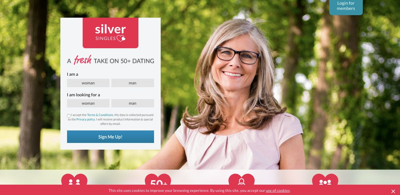 SilverSingles Dating Website Review